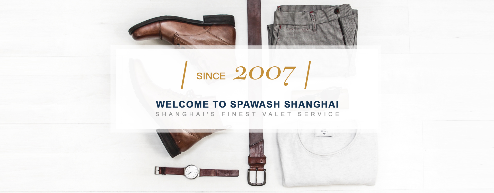 Welcome to SPAwash Shanghai